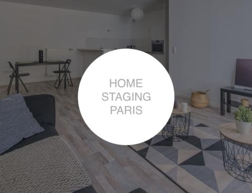 Home staging à Paris pour logement témoin